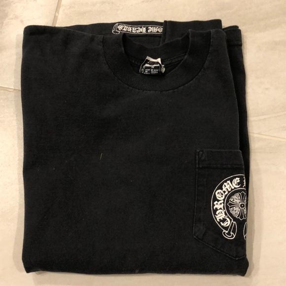 0980f426c7c6 Chrome Hearts Tops - Chrome Hearts long sleeve black t- shirt